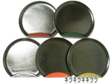 和菓子*おもてなし【山中漆器】半月.銘々皿(漆器皿)5枚セット