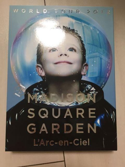 WORLD TOUR 2012 LIVE at MADISON SQUARE GARDEN L'Arc-en-ciel  < タレントグッズの