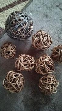 アジアン風 籐細工