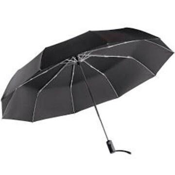 【BLKP】 パール金属 大きい 折りたたみ 傘 ワンタッチ 自動開