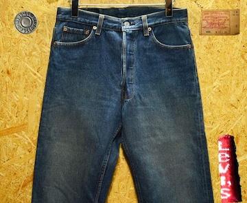 ◆廃盤◆米国95年製リーバイス501・W31(79cm)・股下77cm