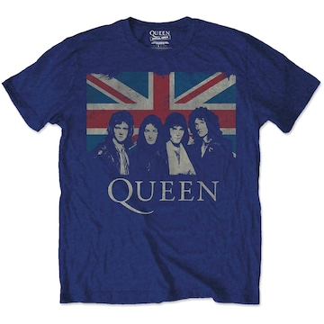 QUEEN 公式 Tシャツ 「 UNION JACK」 001