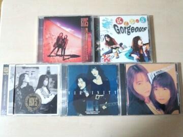 KIX・S(キックス)CDアルバム5枚セット The KIX-S★