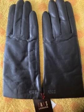 DAKSダックス革革手袋インナーニット18,19S