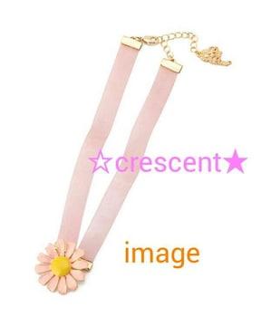 マーガレットチョーカー☆リズリサ/新品未使用/ピンク/LIZ LISA/値下げ