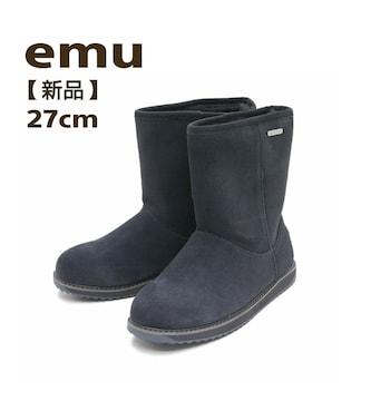 EMU エミュー ムートンブーツ シープスキン スノーブーツ 27cm