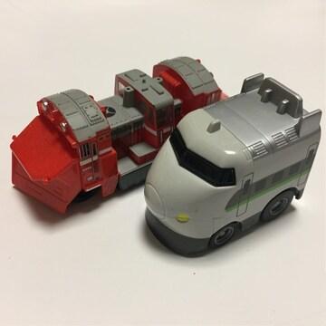 電車 新幹線、北海道ラッセル車 チョロQ(他も出品中)