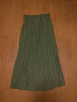 ◆UNIQLO◆シフォン◆マキシロングスカート◆