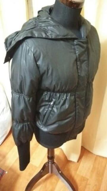 ★INTERPLANET インタープラネット ダウン ジャンバー ジャケット ブラック サイズM位★ < 女性ファッションの