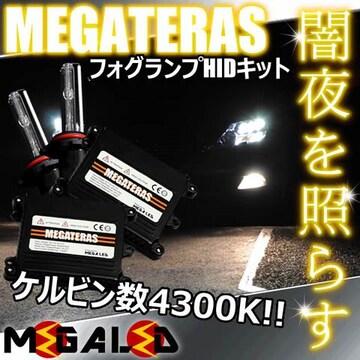 mLED】ランドクルーザー100後期/フォグランプHIDキット/HB4/4300K