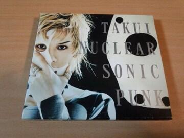 TAKUI CD「NUCLEAR SONIC PUNK」 中島卓偉 初回限定盤●