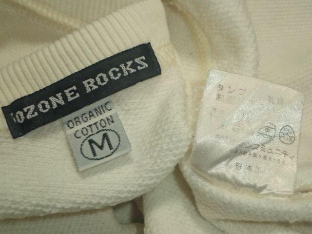 日本製¶OZONE ROCKS[オゾンロックス]★スウェットトレーナー M/送料\260〜 < ブランドの
