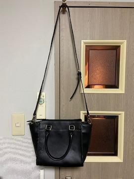美品黒のショルダーバッグ