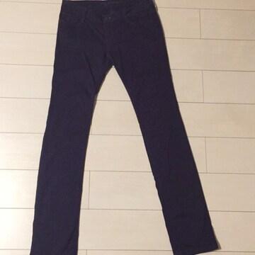 ru jeans☆紫☆パープルカラーパンツ☆ストレートパンツ