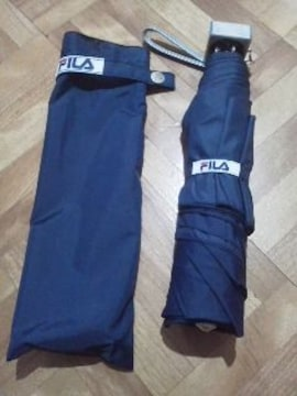 FILA/フイラ男女兼用★ケース付き折り畳み傘《新品》送料350円