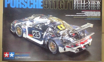 1/24 タミヤ ポルシェ 911 GT1 フルビュー