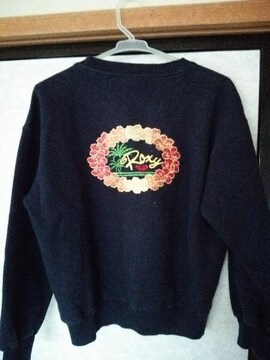 ROXY 美品 バック刺繍 ロゴ
