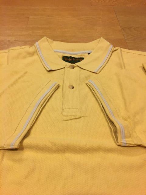 Timberland  ティンバーランド  ポロシャツ  sizeXXL  辛子色 < 男性ファッションの