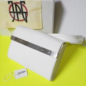 【激レア】ジャン・ポール・ゴルチエ★プレートシリーズbag(白)★新品