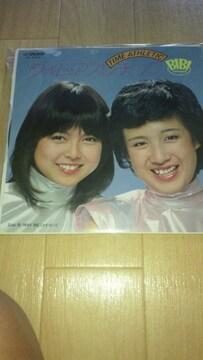 EP レコード!BIBI「タイム・アスレチック」(80年)☆早坂あきよ☆