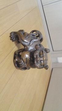 ★木製★狛犬の置物★透かし彫り
