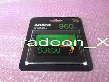 新品 SSD 960GB ADATA SU630 ASU630SS-960GQ