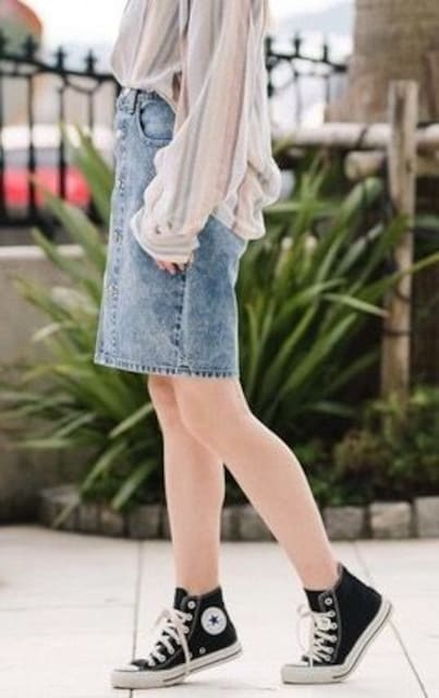 Levi'sリーバイス☆デニムスカート < ブランドの