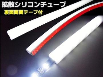 LEDテープライトをラグジュアリー発光に!!専用シリコンチューブ