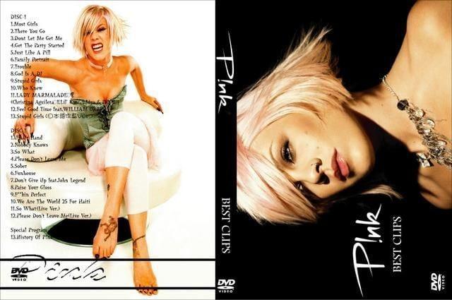 P!NK(Pink)プロモ 2011 最新版 PV ピンク 字幕付 �ADVD!高画質  < CD/DVD/ビデオの
