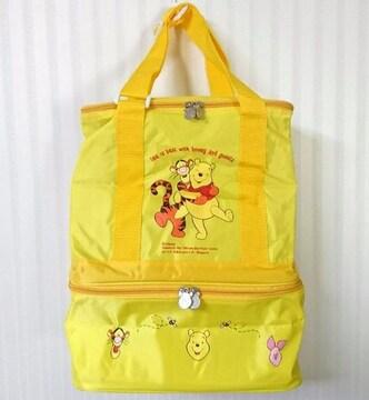 くまのプーさん★二段 大容量 クーラーバッグ