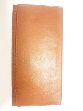 12366/使いやすいブラウンレザー革の長財布です★普段使いにも格安