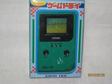 ゲームトライ テニス