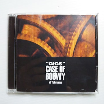 BOOWY『CASE OF BOOWY』1987. at Yokohama 2CD