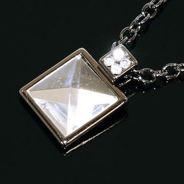 即決ビッグStoneネックレスCZダイヤモンド