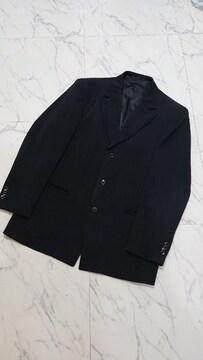l'garage  ルガラージュ 3Pスーツ  黒 織柄 W90