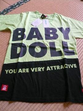BABY DOLLベビードール王冠ロゴTシャツM 新品