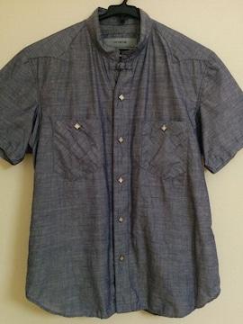 nonnative 襟なしシャツ ノンネイティブ カラーなし vendor 半袖 1 光沢