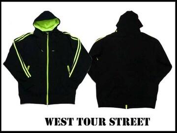 新品 west tour street 3 ストライプ セットアップ XL