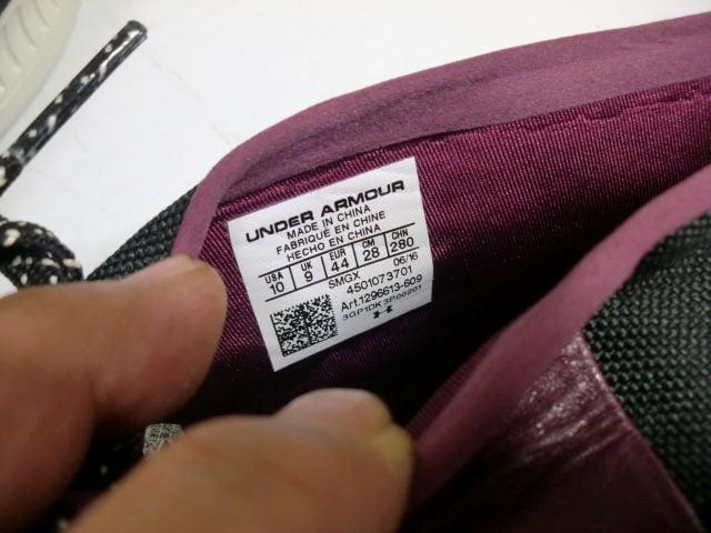 海外モデル アンダーアーマー ヴェローチェ 28センチ < 男性ファッションの