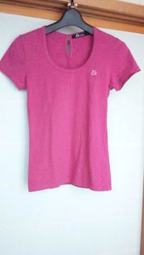 &byP&D シンプル Tシャツ ピンク 40 ピンキー アンド ダイアン N2m