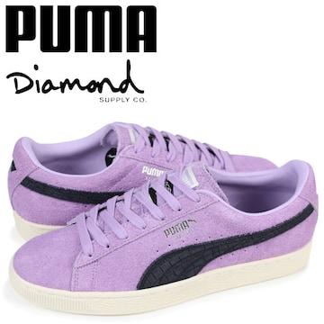 激レア USA購入 PUMA 【SUEDE DIAMOND】26.5�p