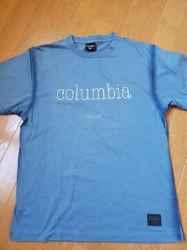 ☆新品同様☆コロンビア☆ブルー半袖Tシャツ☆M