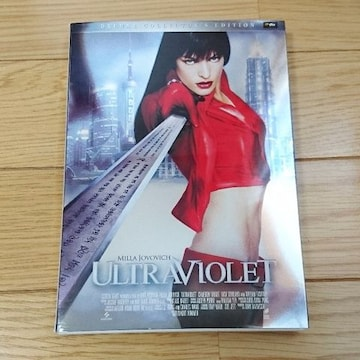 ULTRAVIOLETウルトラバイオレット 初回限定盤 ミラジョボビッチ 映画 DVD