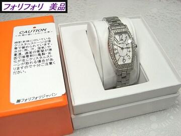 本物確実正規美品フォリフォリ 腕時計 型番WF5T084BPS