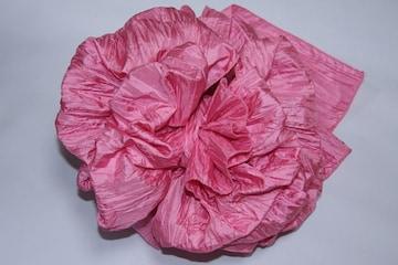 浴衣に♪結び方簡単くしゅふわ兵児帯へこ帯★子供ゆかたピンク