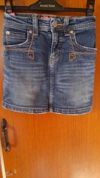 ∞デニムのスカート