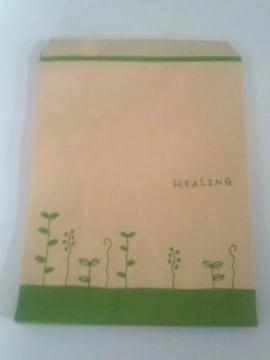 R20サイズ平袋★ハーブリーフ☆B5が余裕で入る紙袋20枚