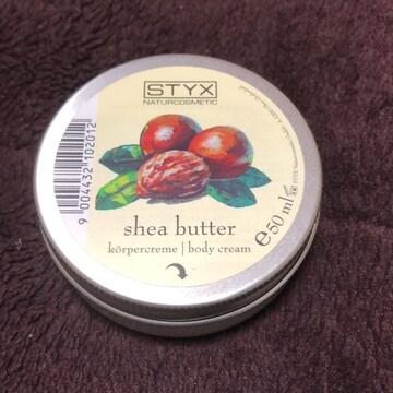 styx シアバター50ml 切手ok