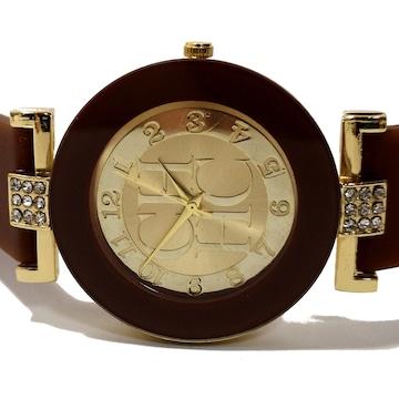 【新品・未使用】CH【ジルコニア】大型 ユニセックス 腕時計