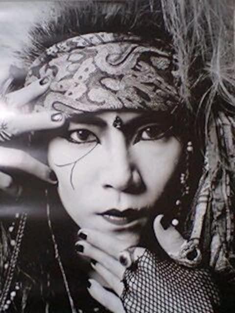 X JAPAN hide ポスター ヒデ Jealousy  < タレントグッズの